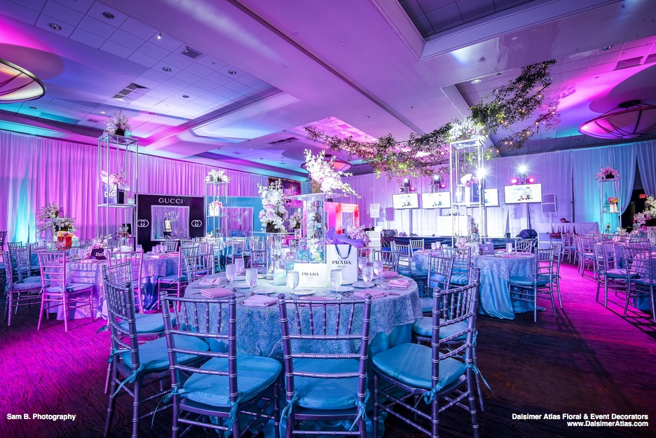 Paris Fashion Bat Mitzvah | Fort Lauderdale Marriott Harbor Beach Resort
