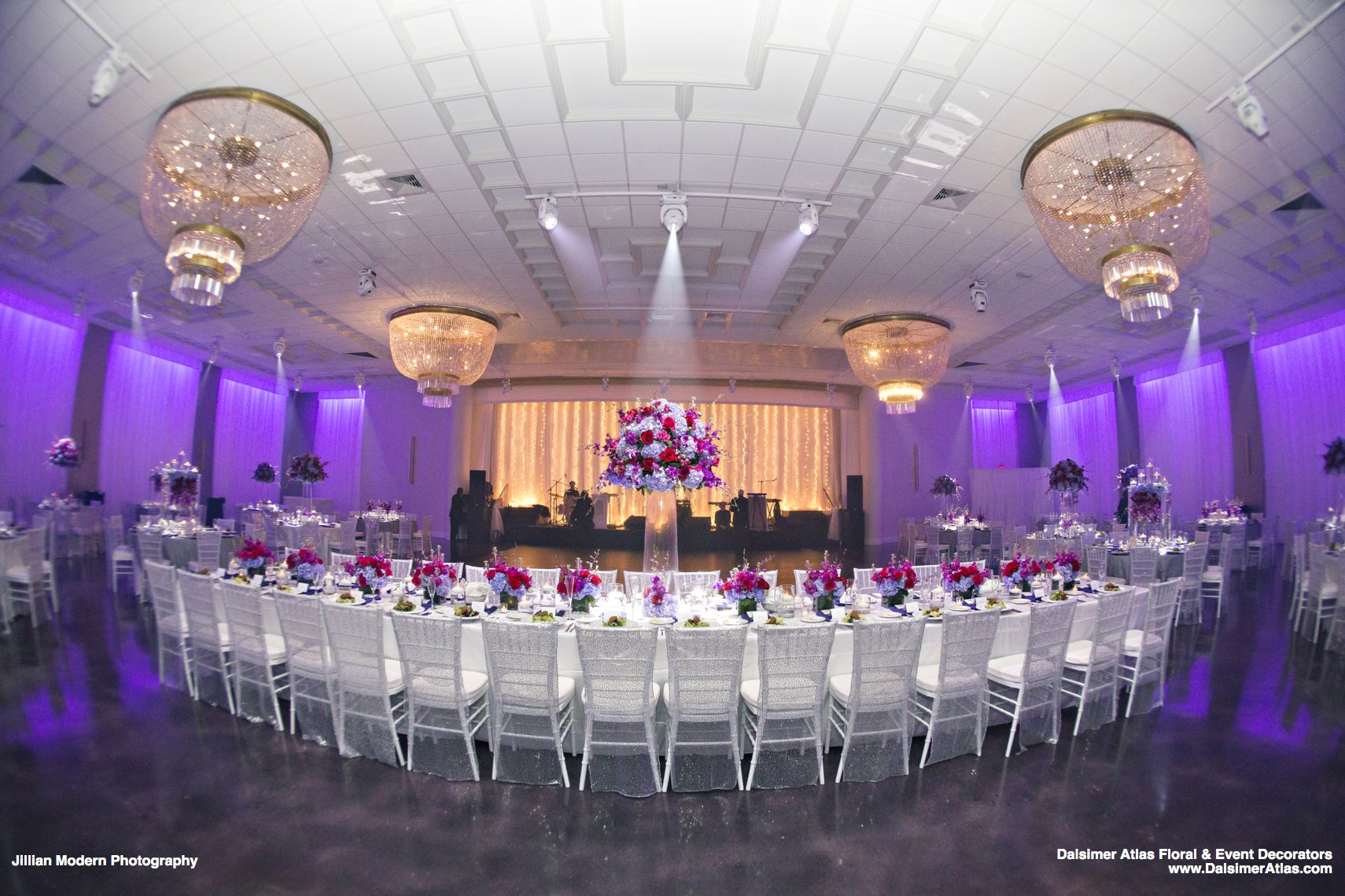 Tremendous Color and Style Made This Wedding Look Fabulous