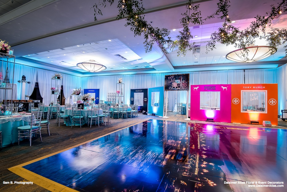 Bat-Mitzvah-theme-decorations-Fort-Lauderdale-Marriott-Harbor-Beach-Resort-florida-dalsimer-atlas